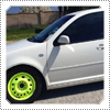 EXCLUSIVE NEW PHOTO: Mack Spotted Some Cool & Trendy Neon Rims On 17th March 2013