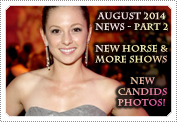 August 2014 News Part 2: EXCLUSIVE: SHOWS, NEW CANDIDS, FACEBOOK PAGE, MACK NEWS & SITE NEWS!