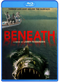 BENEATH Blu Ray DVD Packaging