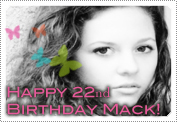 Happy 22nd Birthday Mack! December 2011