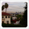 EXCLUSIVE: Mack's own photo that she took of a smoggy looking Los Angeles city in December 2013.