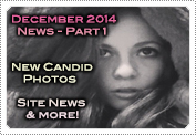 December 2014 News Part 1: EXCLUSIVE: NEW MACKENZIE ROSMAN CANDIDS & SITE NEWS UPDATES!