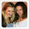 Mack and Beverley Mitchell posing together on a dinner date in February 2012.