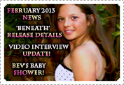 February 2013 News: EXCLUSIVE: MACK FILMING THE INTERVIEW, 'BENEATH' RELEASE DETAILS, OLD PHOTOS FROM PHOENIX HOUSE HONOURS GALA, NEWS UPDATE & NEW PHOTOS!