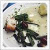 EXCLUSIVE CANDID: Taverna Tony's Grilled Calamari That Mackenzie Rosman Chowed Down On In Malibu February 2015.