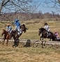 Mackenzie Rosman competing in the Piedmont Point to Point Hunt Race on March 26th, 2018