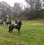 EXCLUSIVE CANDID: Mackenzie training and riding with Ody in October 2017