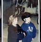 EXCLUSIVE CANDID: Mackenzie Rosman with brother Chandler at the Stables in 1996