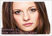 January 2012 News: New Layout, New Year!