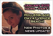 January 2015 News Part 1: EXCLUSIVE: MACKENZIE'S ROLLERBLADE DAY AT VENICE BEACH & NEW PHOTOS!