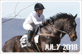 July 2018 News: JULY 2018: MACKENZIE COMPETES IN THE PIEDMONT HUNT RACES MARCH 26TH, 2018!