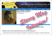 Mack's Starry Mag Interview June 29th 2011.