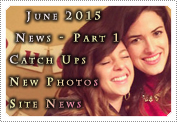 June 2015 News Part 1: EXCLUSIVE: MACKENZIE ROSMAN: CATCH UPS, NEW PHOTOS, SITE NEWS!