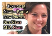June 2015 News Part 2: EXCLUSIVE: MACKENZIE ROSMAN: NEW PHOTOS, SITE NEWS, MIA NEWS!