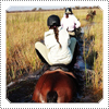 EXCLUSIVE CANDID: Mackenzie Rosman Horse Riding Through The River In Africa 2006.