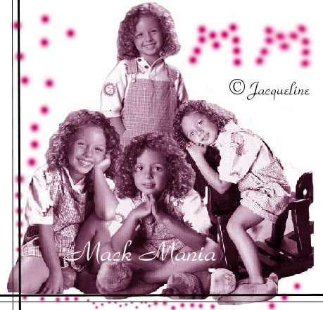 my first mack art collage!, copyrighted to © jacqueline