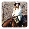 Very Exclusive Candid Photo; Mack on an epic African Horseback Safari at Okavango Delta in Botswana during early August 2011.