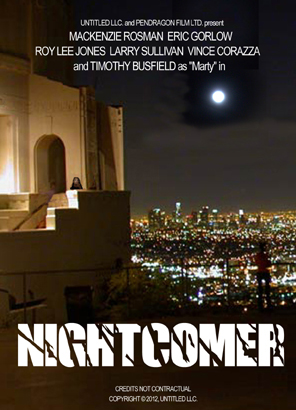 Nightcomer Mock Up Poster October 2012