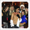 Exclusive: Exclusive: Mack and David attended a Halloween party at the San Juan Hills Golf Club with barn staff from where Mack's horses live, the party was on the 30th of October 2012.