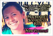 November 2014 News Part 2: EXCLUSIVE: MACKENZIE ROSMAN'S  SOULCYCLE RIDE & NEW PHOTOS!