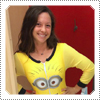 EXCLUSIVE: Mackenzie Rosman Wearing a Yellow Minion Onesie Outfit With Emily September 2014.