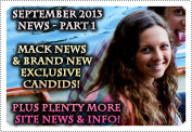 September 2013 News Part 1: EXCLUSIVE: ALL THE LATEST MACK NEWS & ALL BRAND NEW CANDID PHOTOS!