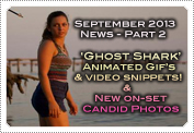 September 2013 News Part 2: EXCLUSIVE: 'GHOST SHARK' ANIMATED GIF GRAPHICS & MINI VIDEO SNIPPETS!