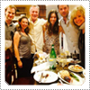 EXCLUSIVE CANDID PHOTO: The '7th Heaven' Cast Reunite For A Reunion Dinner In LA On 18th September 2014.