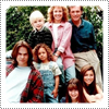 EXCLUSIVE CANDID PHOTO: Throwback Photo 7th Heaven Season One Cast Promotional Photo From August 1996. Thanks To Beverley Mitchell For The Throwback Photo.
